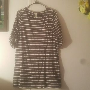 FOREVER 21 plain Grey and white Blausse